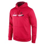 Nike Men's University of Louisiana at Lafayette Sideline Collection KO Fleece Pullover Hoodie