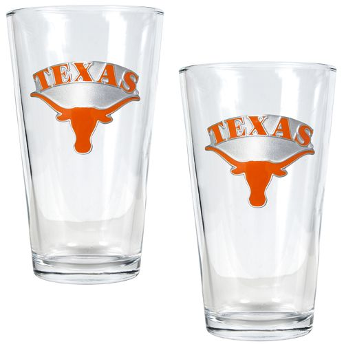 Great American Products University of Texas 16 oz. Pint Glasses 2-Pack