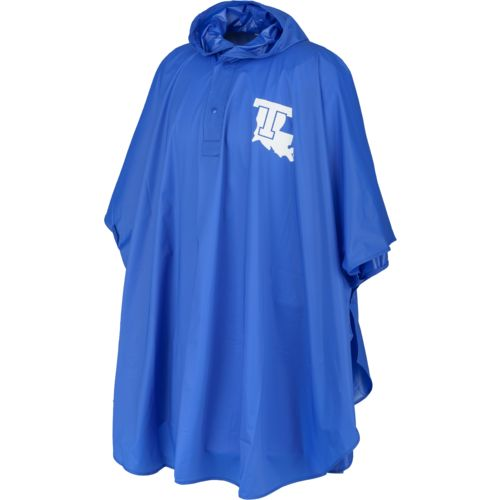 Storm Duds Adults' Louisiana Tech University Slicker Heavy Duty PVC Poncho