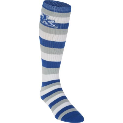 For Bare Feet Adults' University of Kentucky Team Color Pro Stripe Tube Socks