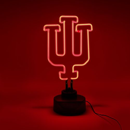 AES Optics Indiana University Neon Table Light