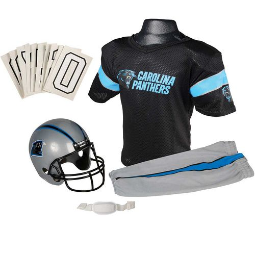 Franklin Kids' Carolina Panthers Deluxe Uniform Set