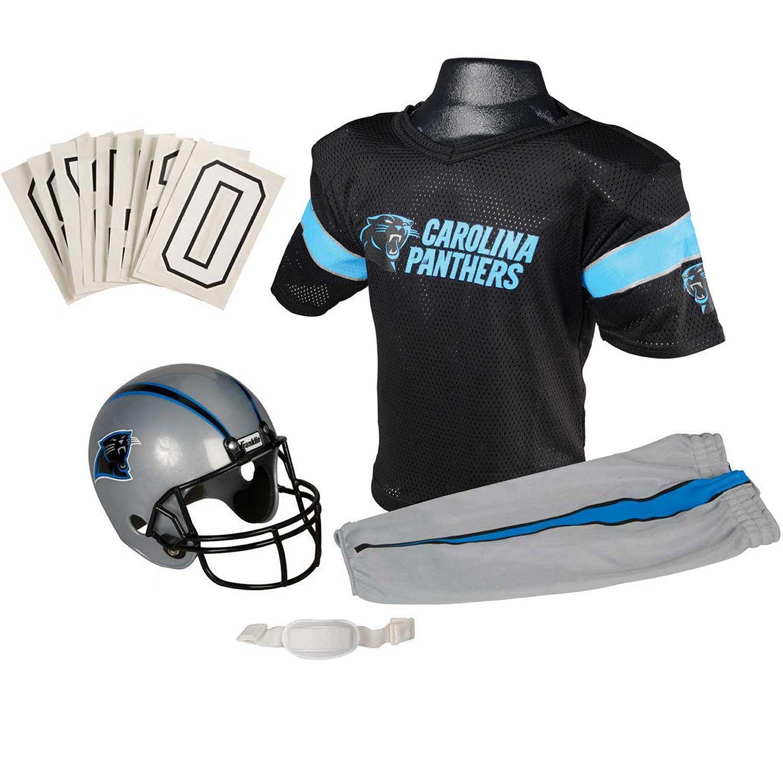 Franklin Kids' Carolina Panthers Deluxe Uniform Set