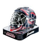 Franklin NHL Team Series Columbus Blue Jackets Mini Goalie Mask - view number 2