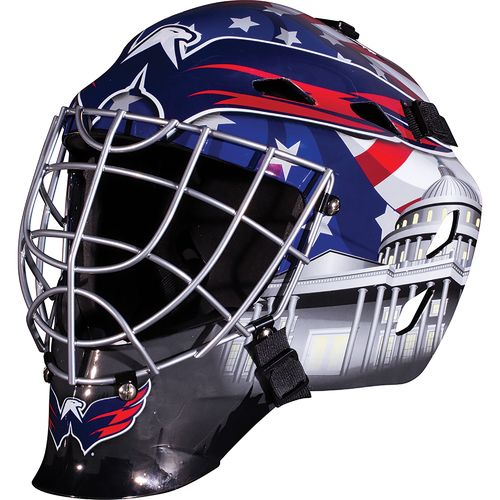 Franklin Boys' Washington Capitals GFM 1500 Goalie Face Mask