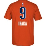 adidas Men's Oklahoma City Thunder Serge Ibaka #9 7 Series T-shirt