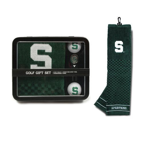 Team Golf Michigan State University Embroidered Towel Tin