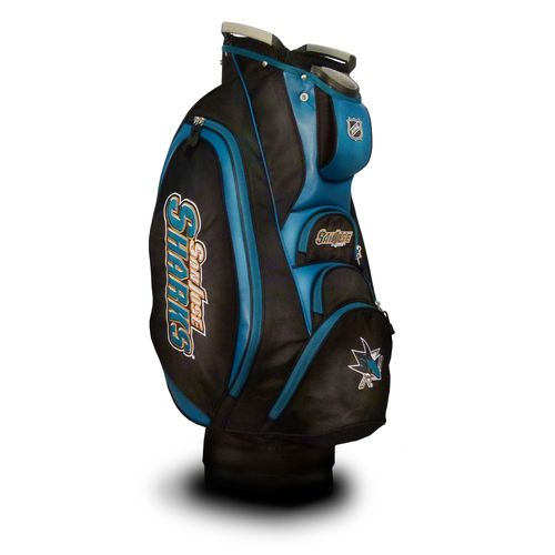 Team Golf San Jose Sharks Victory Cart Golf Bag - view number 1