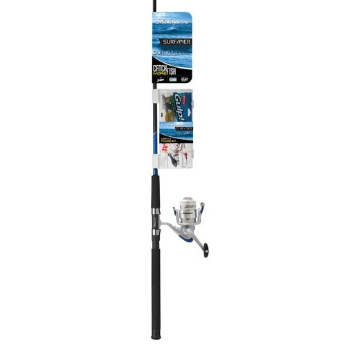 Shakespeare® Catch More Fish 7' Saltwater Surf/Pier Spinning Fishing Kit - view number 10