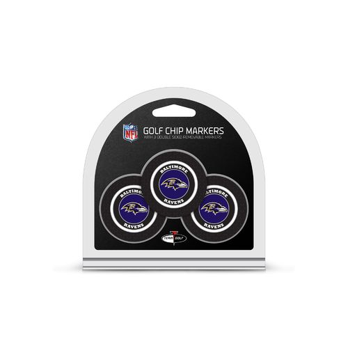 Team Golf Baltimore Ravens Poker Chip and Golf Ball Marker Set