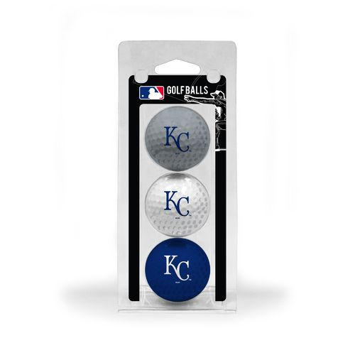 Team Golf Kansas City Royals Golf Balls 3-Pack