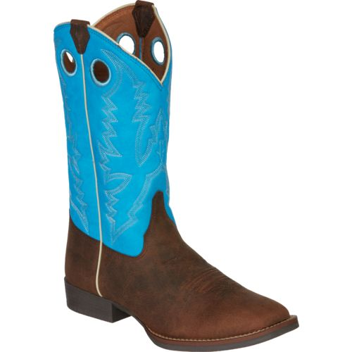 Justin Kids' Buffalo Bent Rail Western Boots - view number 2