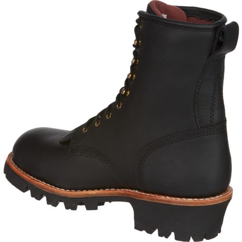 Chippewa Boots Men's Insulated Waterproof Steel-Toe Logger Rugged Outdoors Boots - view number 3
