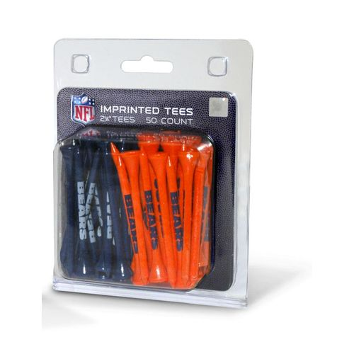 Team Golf Chicago Bears Golf Tees 50-Pack