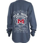 Three Squared Women's University of Mississippi Cotton Big T-Shirt