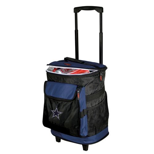 Logo Dallas Cowboys Rolling Cooler