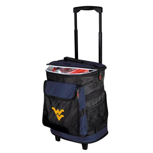 Logo™ West Virginia University 48-Can Rolling Cooler