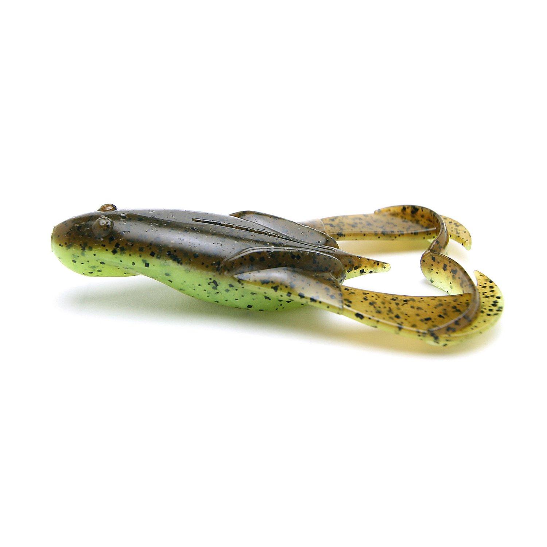 "Keitech Noisy Flapper Frog 3-1/2"" Swim Baits 5-Pack"
