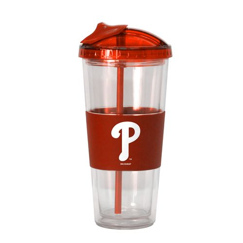 Boelter Brands Philadelphia Phillies 22 oz. No-Spill Straw Tumblers 2-Pack
