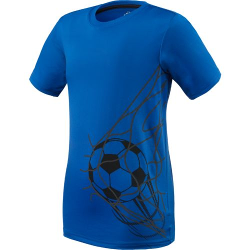Bcg boys 39 soccer goal t shirt academy for Boys soccer t shirts