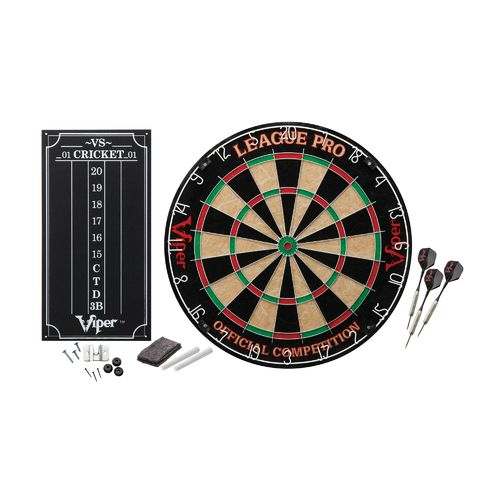 Viper League Pro Sisal Fiber Dartboard