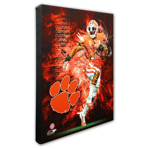 Photo File Clemson University Player Stretched Canvas Photo - view number 1