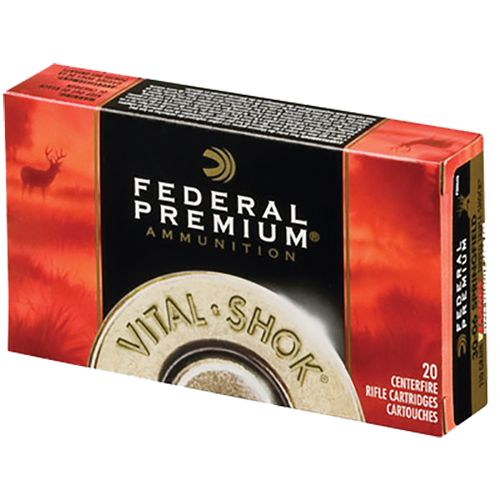 Federal Premium Vital-Shok Trophy Bonded Bear Claw Centerfire Rifle Ammunition
