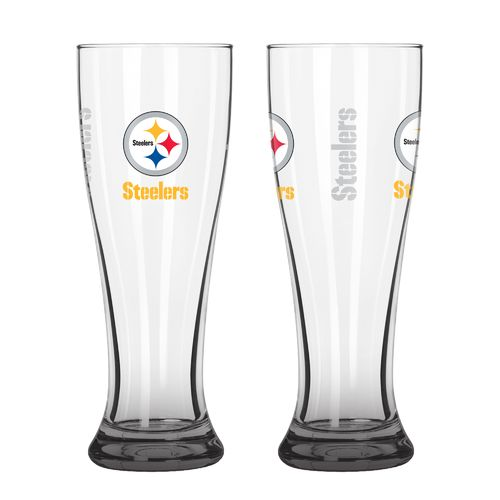 Boelter Brands Pittsburgh Steelers Elite 16 oz. Pilsners 2-Pack