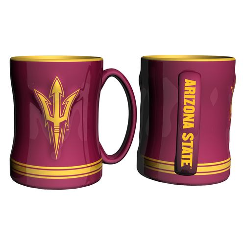 Boelter Brands Arizona State University 14 oz. Relief Mugs 2-Pack