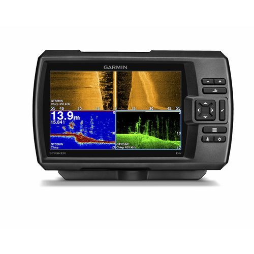 garmin striker™ 7sv chirp sonar/gps fishfinder combo | academy, Fish Finder