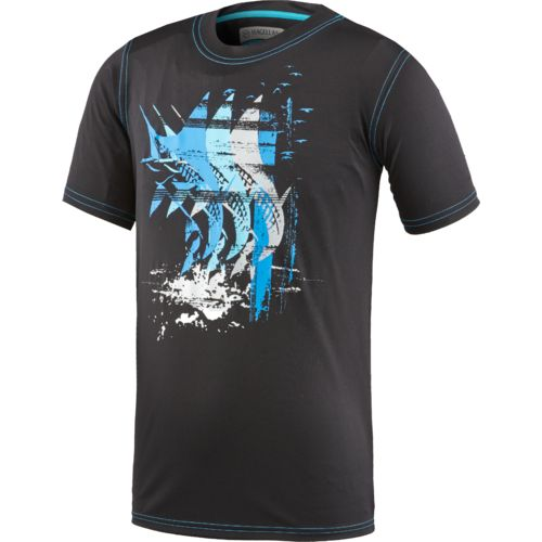 Display product reviews for Magellan Outdoors Boys' Glow and Dark Fishing T-shirt