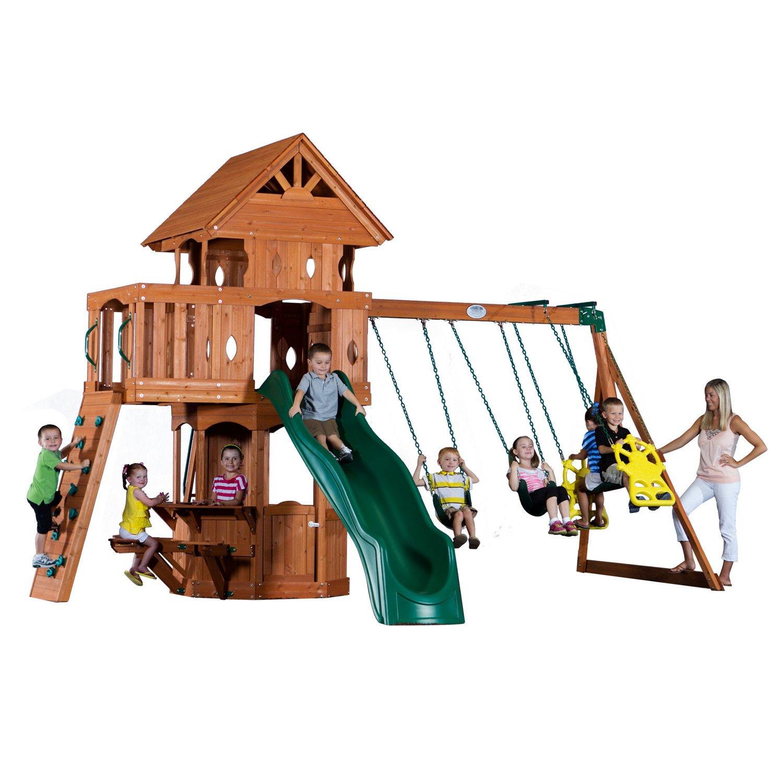 Backyard Discovery™ Woodland Wooden Swing Set