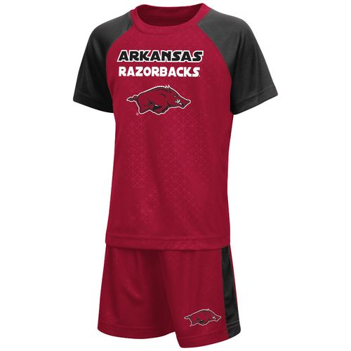 Colosseum Athletics Toddler Boys' University of Arkansas Gridlock Set