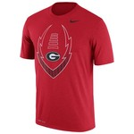 Nike Men's University of Georgia Icon Legend T-shirt