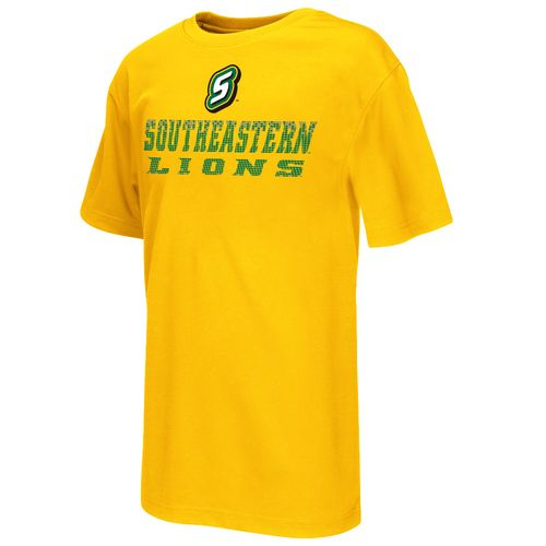 Colosseum Athletics™ Boys' Southeastern Louisiana University Pixel Short Sleeve T-shirt