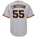 Majestic Men's San Francisco Giants Tim Lincecum #55 Cool Base® Jersey