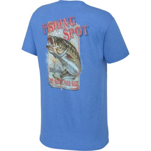 Magellan outdoors men 39 s fishing spot short sleeve t shirt for Magellan fishing shirts