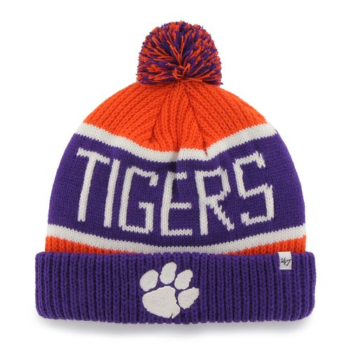'47 Men's Clemson University Calgary Cuff Knit Hat