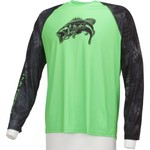 Huk Men's Kryptek Bass K.O. Long Sleeve Raglan T-shirt