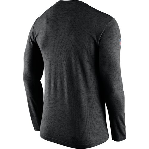 Nike Men's Carolina Panthers Dri-FIT Touch Long Sleeve T-shirt - view number 2