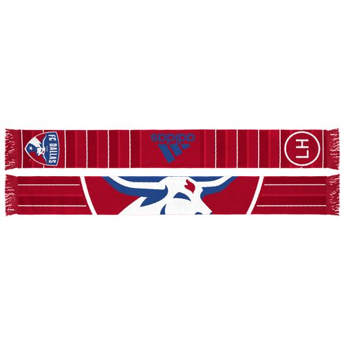 adidas™ Men's FC Dallas Jersey Hook Sublimated Scarf
