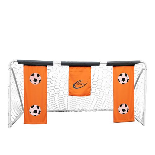 Display product reviews for Skywalker Sports 9' x 5' Soccer Goal with Practice Banners