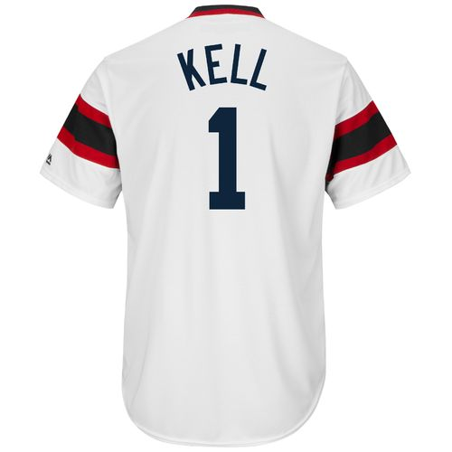 Majestic Men's Chicago White Sox George Kell #1 Cooperstown Cool Base 1981-85 Replica Jersey