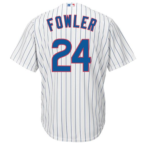 Majestic Men's Chicago Cubs Dexter Fowler #24 Cool Base Replica Jersey