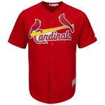 Majestic Men's St. Louis Cardinals Cool Base Replica Jersey - view number 1