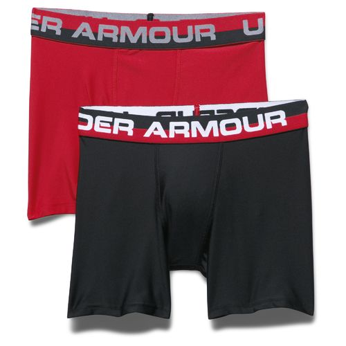 Display product reviews for Under Armour Boys' Original Series Boxerjock Boxer Briefs 2-Pack