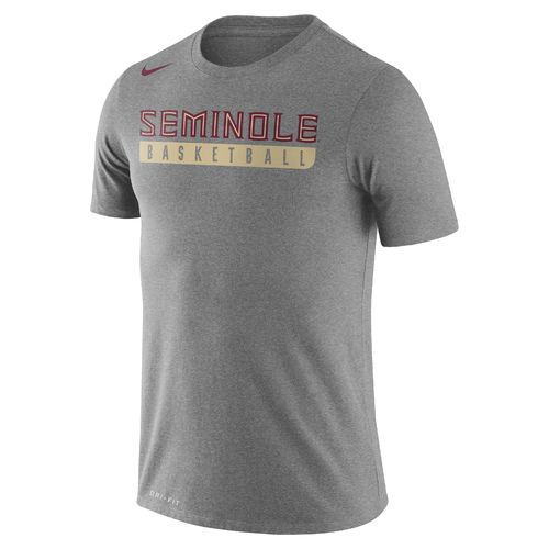 Nike Men's Florida State University Basketball Practice T-shirt