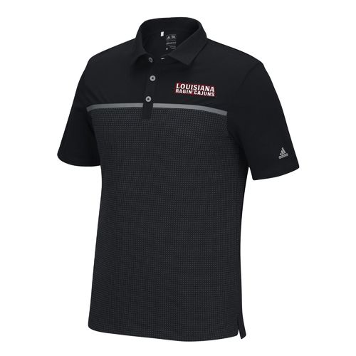adidas™ Men's University of Louisiana at Lafayette Aeroknit Polo Shirt