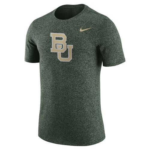 Nike Men's Baylor University Marled Logo T-shirt