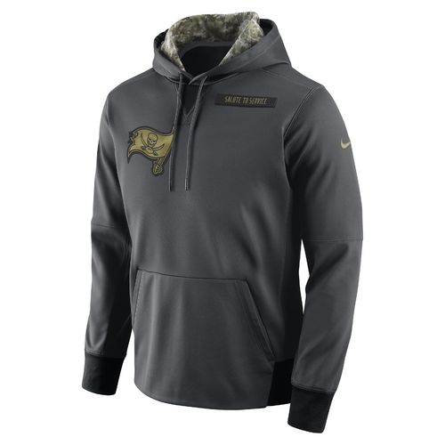 Nike Men's Tampa Bay Buccaneers Salute To Service Player Fleece Pullover Hoodie - view number 1
